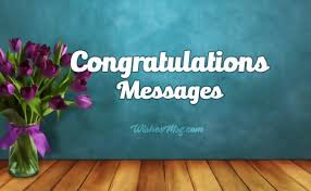 Congratulations Messages Best Congratulation Wishes And