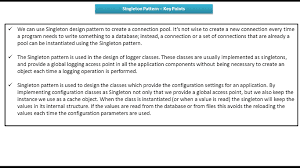 Singleton Pattern Best Design Ideas