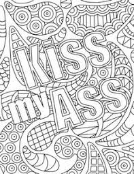 Small Picture Free Printable Coloring Page Shitballs Swear Word Coloring