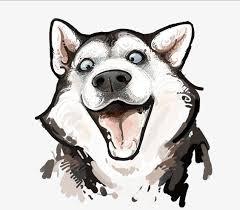 Image result for tranh biếm hoạ về chó