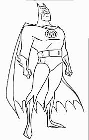 Small Picture Coloring Pages Batman Animated Images Gifs Pictures