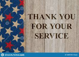 Thanks For Your Service Thank You For Your Service Message Stock Photo Image Of