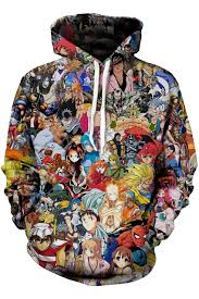 Beautiful Halo Size Chart 3d Comic Anime Character Printed Long Sleeve Pullover Drawstring