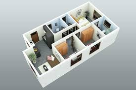 3 D House Plans House Plans Simple 3 Bedroom House Design Awe Inspiring  More Floor Plans