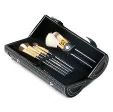 M Brand <b>9 Pcs Makeup Brushes</b> Set Kit <b>Travel</b> Beauty Professional ...