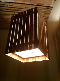 picture of reclaimed wood light