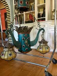 mid century modern moroccan inspired chandelier from the sahara hotel las vegas for