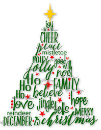 Christmas Tree Quotes Magnificent Christmas Tree SVG File PDF Dxf Jpg Png Christmas Words SVG