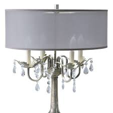 chandelier style lamp shades table lamps canada crystal 14