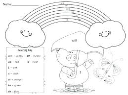 Learning Coloring Pages Online Coloring For Preschool Free Printable