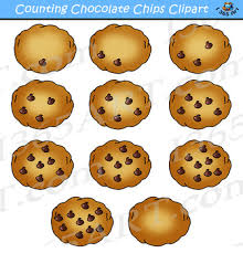 chocolate chip cookies clip art. Counting Chocolate Chips Cookies Clipart Intended Chip Clip Art