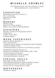 Student Job Resume Sample Student Objective For Resume This Is