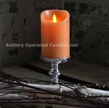 check out the deal on luminara rustic orange candle battery operated 3 5 x 5 timer remote ready at battery operated candles 19 99 battery