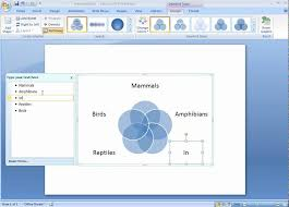 Can You Make A Venn Diagram In Word Office 2007 Demo Create A Venn Diagram