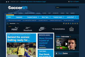 joomla football template. BT Soccerlift v25 interesting joomla template for news and