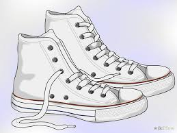 converse shoes clipart. 670px-clean-white-converse-step-1 converse shoes clipart