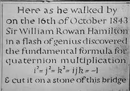 「william rowan hamilton discoveries」の画像検索結果