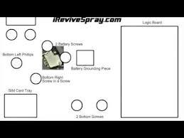 Iphone 4s Full Diagram Of Screw Locations Details To Repair