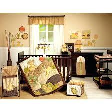 lion crib bedding nursery baby bedding crib set 7 piece lion king comforter sheets brown baby