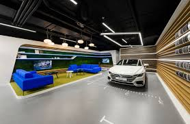 Dealership Showroom Design Mode Lina Designs A New Volkswagen Showroom For Polish
