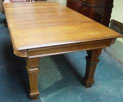 antique snooker dining tables uk. an antique snooker dining table by riley , in oak. tables uk