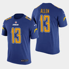 Allen Men's Keenan Color - Chargers Rush Royal T-shirt