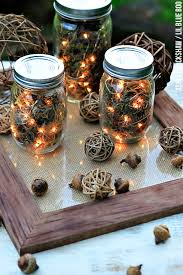 Decorating Ideas With Mason Jars Fall Table Decor Mason Jar Firefly Lanterns 33