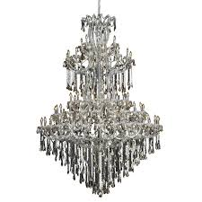 elegant lighting maria theresa 84 light elements crystal chandelier