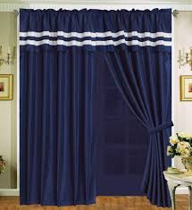 Navy And White Curtains Curtains Navy Blue And White Curtain Menzilperdenet