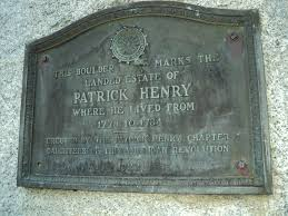 patrick henry speech to virginia convention writework english marker on stone monument to virginia patriot patrick henry at the location of his