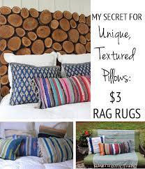 diy kilim pillows