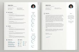 Unique Resumes Templates Resume Creative Resume Template Word Doc