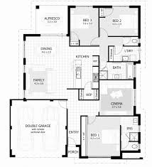 gorgeous 3 bedroom house plans with double garage in south africa lovely affordable 3 bedroom house