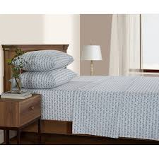serendipity 200 thread count printed percale sheet set queen size elephant 0