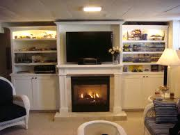 classy design wall units with fireplace 28