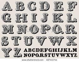 black letter font ornamental capital letters download free vector art stock