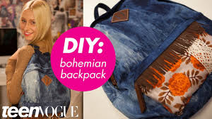 How To Design Your Backpack How To Customize Your Backpack Teen Vogue