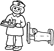 Nurse Coloring Pages Getcoloringpagescom