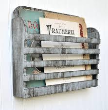 magazine rack wall ed white wood mounted wooden bathroom mount chrome