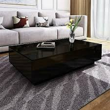 coffee table with 4 storage drawers