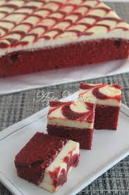 Red Velvet Cheese Brownies Cakes And Breads Cheese Brownies