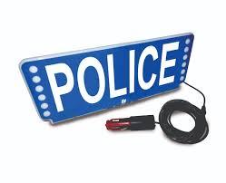 Sun Visor Police Lights Fsx Visor Lights Federal Signal