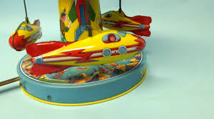 Vintage space ride toy