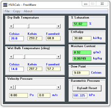 Psychrometric Chart Software Free Download Download Hvac Calculator A Free Psychrometric Analyzer