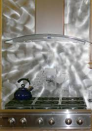 Stainless Steel Backsplash Kitchen Kitchen Handsome Kitchen Design Ideas With Stainless Steel
