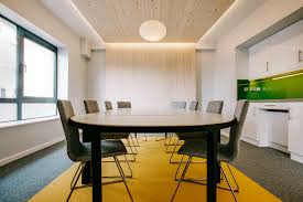 architecture simple office room. Use Of Simple Pallet Materials And Colours Created A Contemporary Welcoming Effect. Architecture Office Room