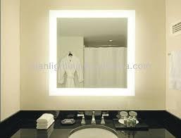 Bathroom Lighting Astonishing Bathroom Mirror With LED Lights
