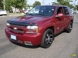 2007 Red Jewel Tint Coat Chevrolet TrailBlazer SS 4x4 #33146161 ...