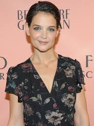 Katie Holmes Just Debuted A New Pixie Cut Instyle Com