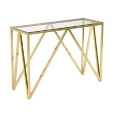 gold console table. Zoom · XC15- 101004 Monti Luxor Gold Console Table